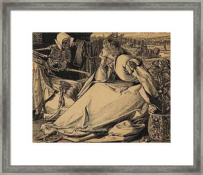 Until Her Death Framed Print