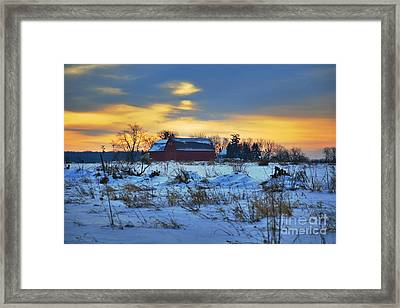 Until Spring Framed Print by Robert Pearson
