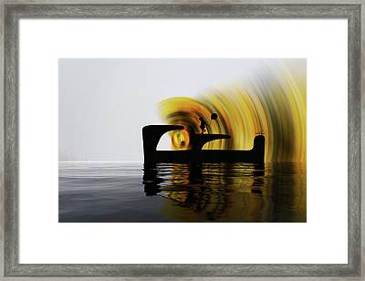 Until The Day God Will Deign To Reveal The Future To Man Framed Print by Sir Josef - Social Critic - ART