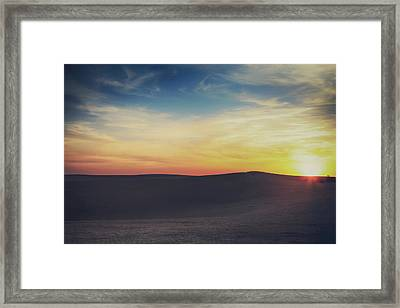 Until The End Framed Print by Laurie Search