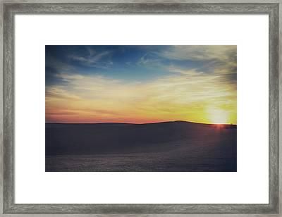 Until The End Framed Print