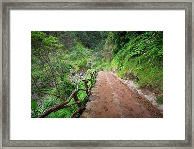 Until The Infinity Framed Print