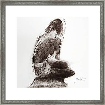 Until The Sea Shall Free Them Framed Print by Jarko Aka Lui Grande
