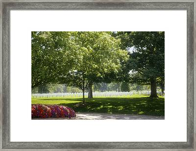 Until We Meet Again Framed Print by Lucinda Walter