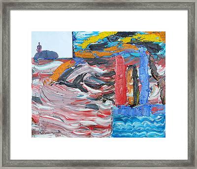 Untilited Framed Print by Ronald Carlino Jr