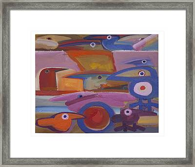 Untitled - 28-98 Framed Print by Rogerio Dias