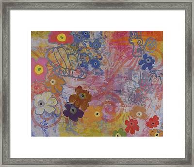 Untitled 006 Framed Print by Gloria Von Sperling