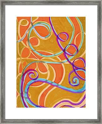 Untitled 034 Framed Print by Gloria Von Sperling