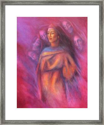 Untitled 1 Framed Print by Elizabeth Silk