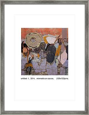 Untitled 1 Framed Print by Pankaj Kumar  Singh