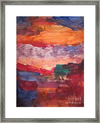 untitled 109 Original Painting Framed Print