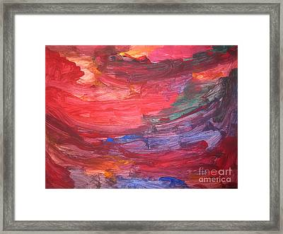 untitled 110 Original Painting Framed Print