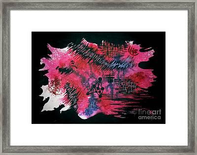 Untitled-110 Framed Print