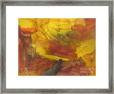 Untitled 117 Original Painting Framed Print