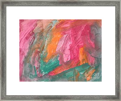 Untitled 119 Original Painting Framed Print
