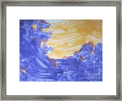 Untitled 120 Original Painting Framed Print