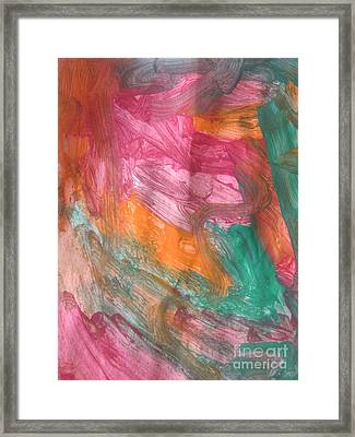 Untitled 122 Original Painting Framed Print