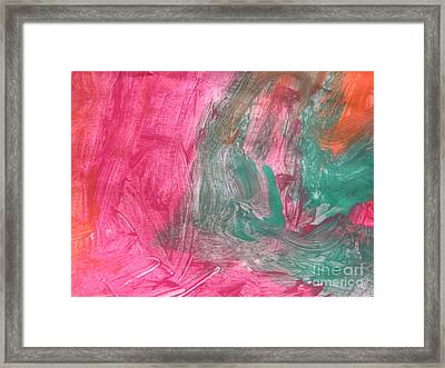 Untitled 123 Original Painting Framed Print