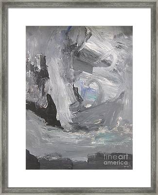 Untitled 124 Original Painting Framed Print
