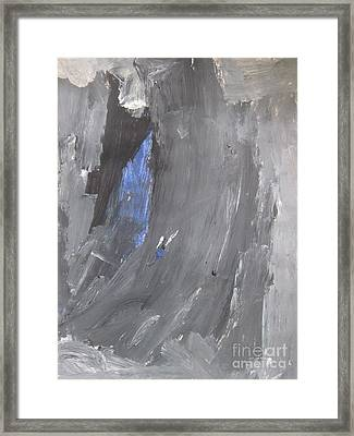 Untitled 125 Original Painting Framed Print