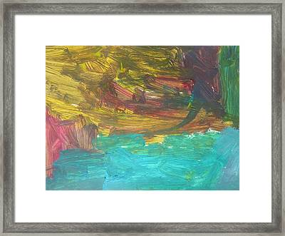 Untitled 126 Original Painting Framed Print