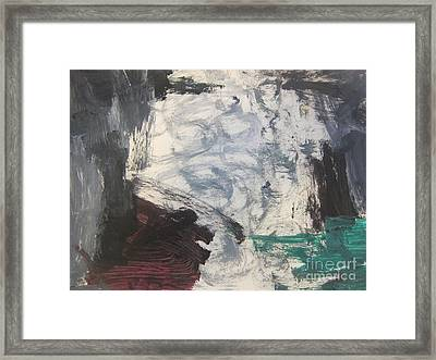 Untitled 127 Original Painting Framed Print