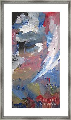 Untitled 141 Original Painting Framed Print