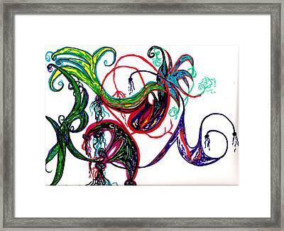 Untitled 2 Framed Print by Cynthia Sepcie