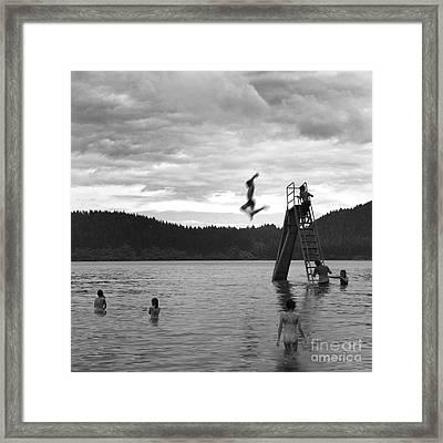 Untitled 2  Framed Print by Gwenda  Harvey