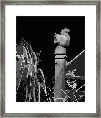 Untitled 200 Framed Print by Gerlinde Keating - Galleria GK Keating Associates Inc