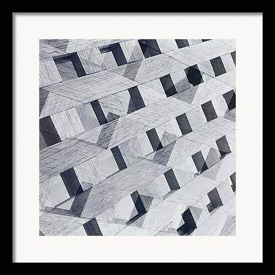 Geometric Effect Photographs Framed Prints