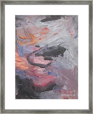 Untitled #35  Original Painting Framed Print