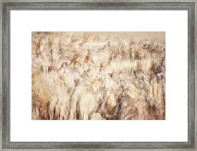 Untitled #3939, From The Soul Searching Series Framed Print