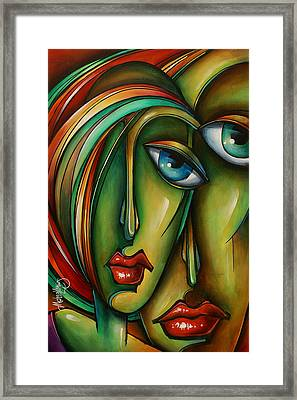Untitled 6 Framed Print by Michael Lang