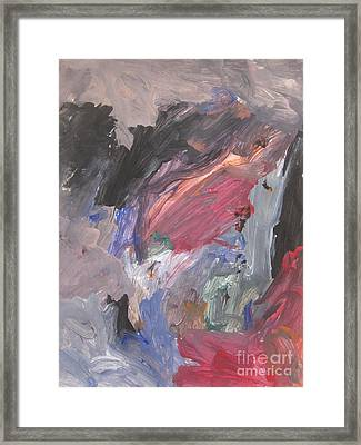 Untitled #6  Original Painting Framed Print
