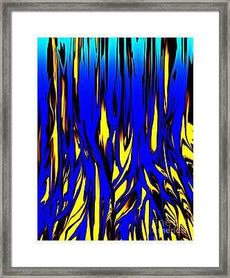 Untitled 7-21-09 Framed Print by David Lane