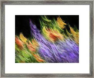 Untitled #8080208, From The Soul Searching Series Framed Print