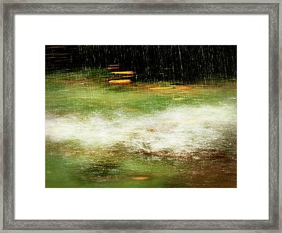 Untitled #8090498, From The Soul Searching Series Framed Print