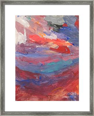 Untitled 96 Original Painting Framed Print