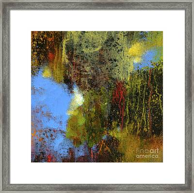 Untitled Abstract 1 Framed Print