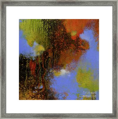 Untitled Abstract 2 Framed Print