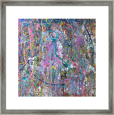 Untitled - Abstract Framed Print by Robert Anderson