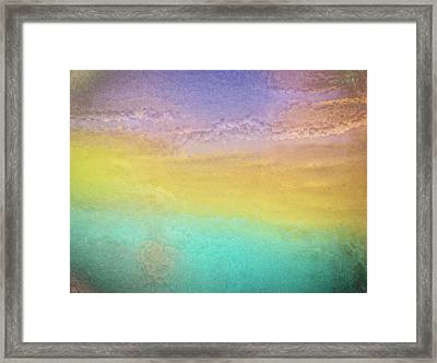 Untitled Abstract Framed Print