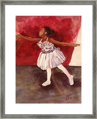 Untitled Framed Print by Amira Najah Whitfield