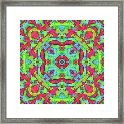 Untitled -b- Soup -pattern- Framed Print by Coded Images