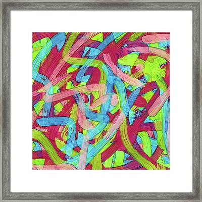 Untitled -c- Soup Framed Print by Coded Images