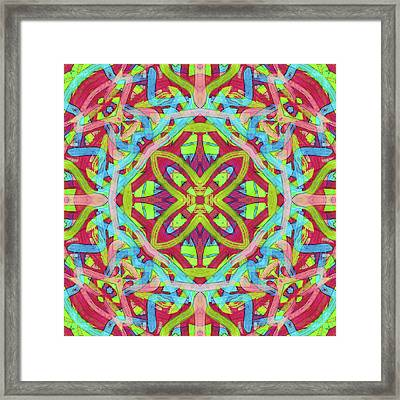 Untitled -c- Soup -pattern- Framed Print by Coded Images