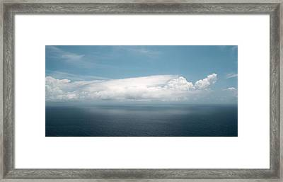 Untitled Cloud Framed Print