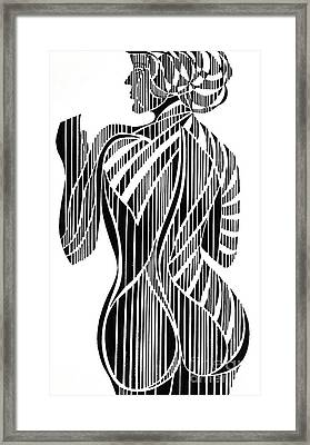 Untitled  Female Figure Framed Print