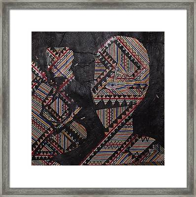 Untitled Figurative Abstraction Framed Print